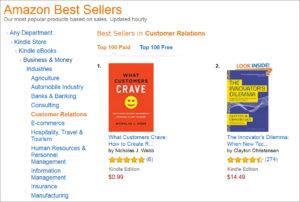 Best Seller in Customer Relations